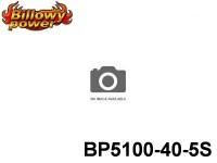 127 BILLOWY-Power X5-40C Lipo Packs Series: 40 BP5100-40-5S 18.5 5S1P