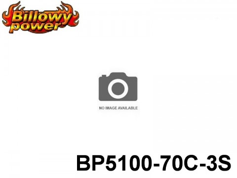32 BILLOWY-Power X5-70C Lipo Packs Series: 70 BP5100-70C-3S 11.1 3S1P