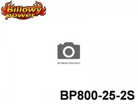 331 BILLOWY-Power X5-25C Lipo Packs Series: 25 BP800-25-2S 7.4 2S1P