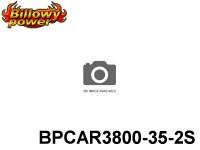 282 BILLOWY-Power X5-35C Lipo Packs Series RC-Cars: 35 BPCAR3800-35-2S 7.4 2S1P