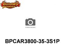 283 BILLOWY-Power X5-35C Lipo Packs Series RC-Cars: 35 BPCAR3800-35-3S1P 11.1 3S1P