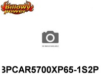 388 BILLOWY-Power X5-65C Lipo Packs Series RC-Cars: 65 BPCAR5700XP65-1S2P 3.7 1S1P