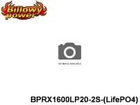 294 BILLOWY-Power Receiver Lipo Packs 20 BPRX1600LP20-2S-(LifePO4) 6.6 2S