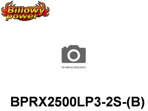 286 BILLOWY-Power Receiver Lipo Packs 3( BPRX2500LP3-2S-(B) 7.4 2S1P