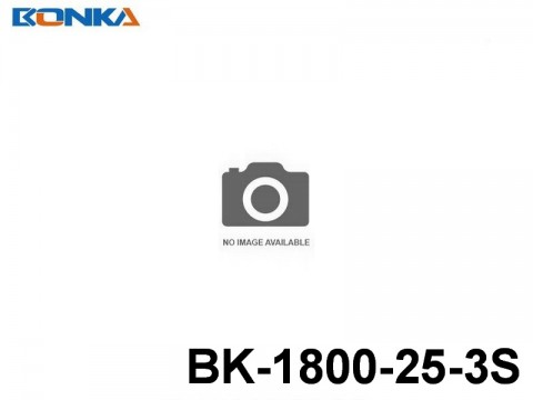 12 Bonka-Power BK Helicopter Lipo Battery 25C Standard BK-1800-25-3S