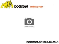 14 ASG Lipo battery packs DOGCOM-DC1100-20-2S-D 7.4 2S