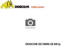 43 Multirotor Lipo Battery Packs DOGCOM-DC16000-25-6S1p 22.2 6S1P