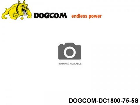 131 RC FPV Racer Regular Lipo Battery Packs DOGCOM-DC1800-75-5S 18.5 5S