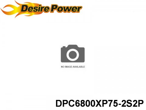 152 Desire-Power 75C V8 series RC Car 75 DPC6800XP75-2S2P 7.4 2S1P