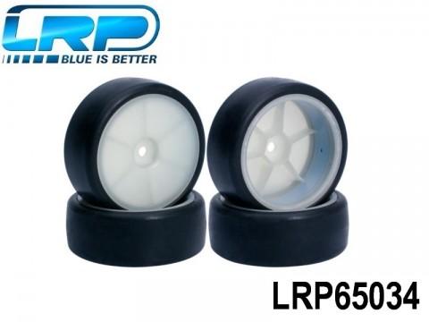 LRP-65034 VTEC 30X Glued asphalt Tires 4pcs LRP65034