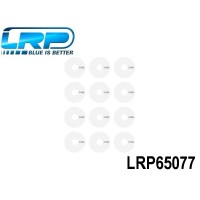 LRP-65077 VTEC Wheel sticker Dish, White LRP65077