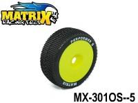 MATRIX Racing Tires Off-Road Tires+Insert TIRES+INSERT MX-301OS OFF-ROAD PERFORMER SOFT -5-Pack