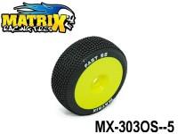 MATRIX Racing Tires Off-Road Tires+Insert TIRES+INSERT MX-303OS OFF-ROAD FAST SOFT -5-Pack