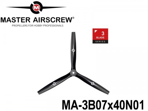 1103 MA-3B07x40N01 Master Airscrew Multi Rotor Propellers Only 3-Blade 7-inch x 4-inch - 177.8mm x 101.6mm