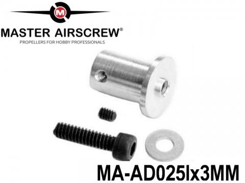 1210 MA-AD025Ix3 Master Airscrew Accessories Adaptors 4-inch x 4-inch - 100mm x 100mm