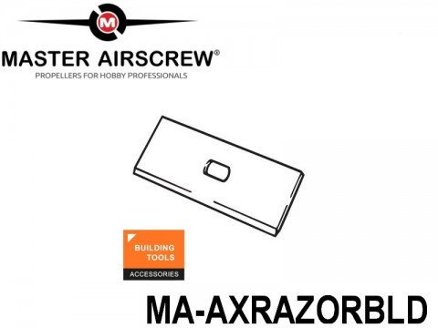 1193 MA-AXRAZORBLD Master Airscrew Accessories Building Tools 4-inch x 4-inch - 100mm x 100mm