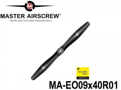 1043 MA-EO09x40R01 Master Airscrew Multi Rotor Propellers Only 9-inch x 4-inch - 228.6mm x 101.6mm Rev.-Pusher