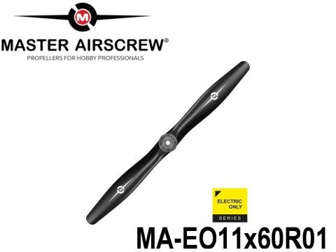1049 MA-EO11x60R01 Master Airscrew Multi Rotor Propellers Only Electric 11-inch x 6-inch - 279.4mm x 152.4mm Rev.-Pusher