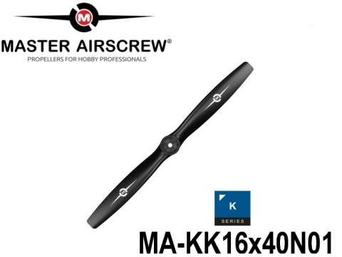 424 MA-KK16x40N01 Master Airscrew Propellers K-Series 16-inch x 4-inch - 406.4mm x 101.6mm