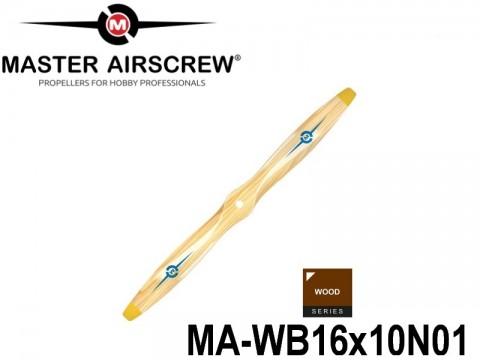 938 MA-WB16x10N01 Master Airscrew Propellers Wood Series 16-inch x 10-inch - 406.4mm x 254mm