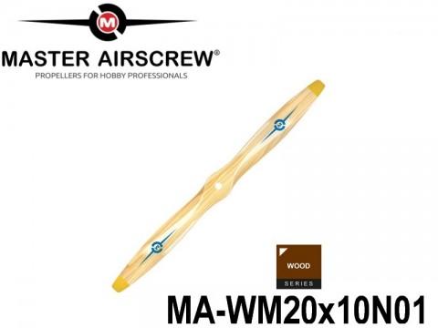 972 MA-WM20x10N01 Master Airscrew Propellers Wood Series 20-inch x 10-inch - 508mm x 254mm
