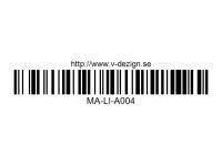 135 CAR DECAL SHEET - High Flexible Vinyl Label MA-LI-A004WT-White White