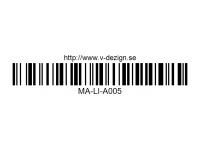 137 LOGO SELECTION 2 - High Flexible Vinyl Label MA-LI-A005