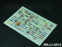 99 DECORATION LOGO DECAL SHEET - High Flexible Vinyl Label (Hot Sale) MA-LI-A012