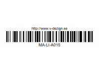 105 DECORATION LOGO DECAL SHEET - High Flexible Vinyl Label MA-LI-A015