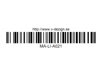124 STRIPES DECAL SHEET - High Flexible Vinyl Label MA-LI-A021
