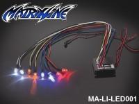 147 Active LED Light Unit Set (8 LEDS) Without controller MA-LI-LED001