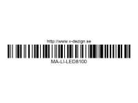 148 LED Light System w-Control Box (8 LEDS) MA-LI-LED8100