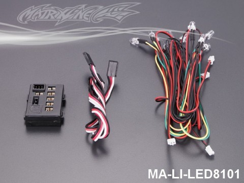 149 LED Light System w-Control Box (10 LEDS) MA-LI-LED8101