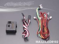 150 LED Light System w-Control Box (12 LEDS) MA-LI-LED8102