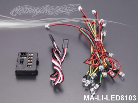 151 LED Light System w-Control Box (18 LEDS) MA-LI-LED8103