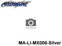 378 Line Tape 1.0mm MA-LI-MX006-Silver Silver