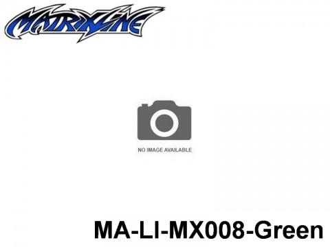 392 Line Tape 2.5mm MA-LI-MX008-Green Green