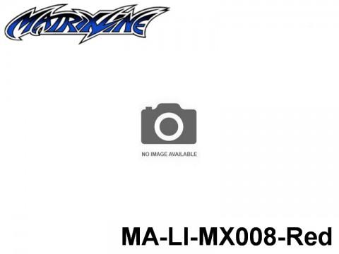 393 Line Tape 2.5mm MA-LI-MX008-Red Red