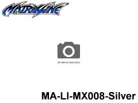 394 Line Tape 2.5mm MA-LI-MX008-Silver Silver