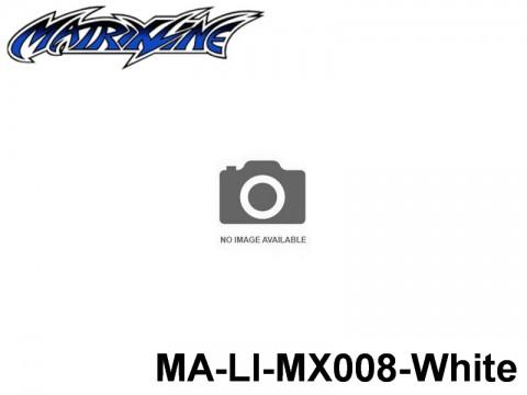 395 Line Tape 2.5mm MA-LI-MX008-White White