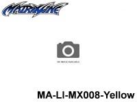 396 Line Tape 2.5mm MA-LI-MX008-Yellow Yellow