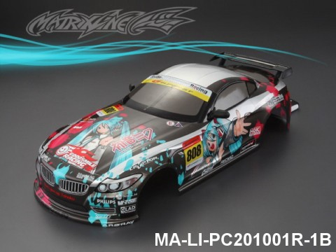 328 BMW.Z4 Finished PC Body RTR MA-LI-PC201001R-1B Painted
