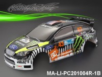 350 FORD FOCUS Finished PC Body RTR MA-LI-PC201004R-1B Painted