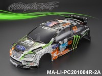 361 FORD FOCUS Finished PC Body RTR MA-LI-PC201004R-2A Painted