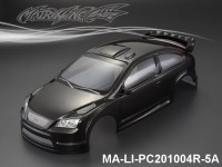 319 FORD FOCUS Finished PC Body RTR MA-LI-PC201004R-5A Painted