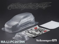 433 VOLKSWAGEN GTI PC Body SHELL MA-LI-PC201005 Transparent