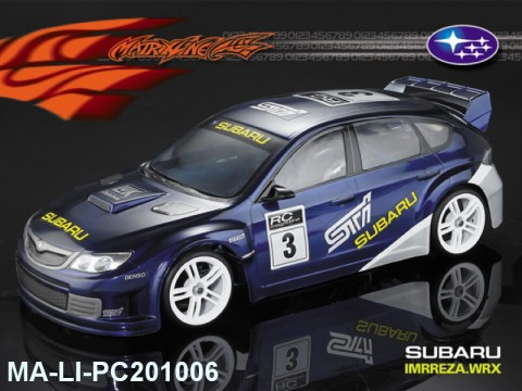 455 SUBARU IMRREZA WRX 10 PC Body SHELL MA-LI-PC201006 Transparent