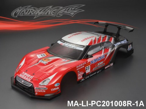 327 NISSAN GT-R R35 GT Finished PC Body RTR MA-LI-PC201008R-1A Painted