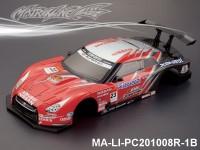 329 NISSAN GT-R R35 GT Finished PC Body RTR MA-LI-PC201008R-1B Painted