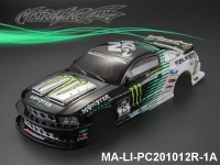 336 FORD MUSTANG GT350 Finished PC Body RTR MA-LI-PC201012R-1A Painted